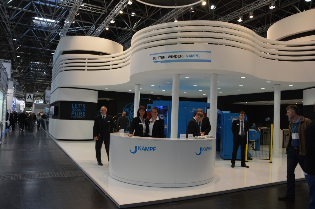 The KAMPF-Booth at K 2013