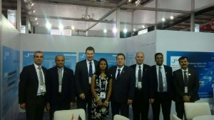 The KAMPF team at Plastindia 2015
