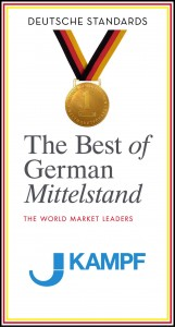 "The corporate seal ""The best of German Mittelstand"""