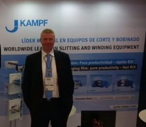 Georg Waitz, sales manager KAMPF at Andina Pack