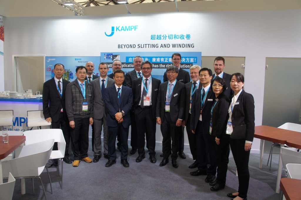 The KAMPF team at Chinaplas 2016