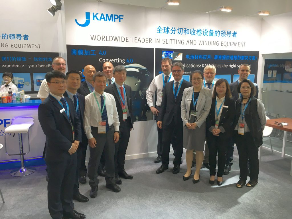 The KAMPF team was satisfied after Chinaplas 2017